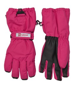 Lego Wear Tec Kinder Finger-Handschuhe AIDEN dark pink
