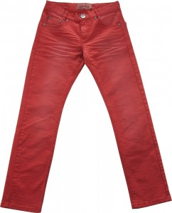 Blue Effect Jungen coloured Jeans Used-Look ziegelrot