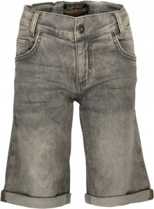 Blue Effect Jungen Sweat-Denim Short/Bermuda grey denim
