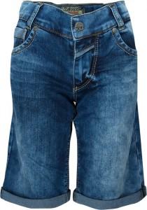Blue Effect Jungen Sweat-Denim Short/Bermuda blue bleached