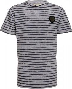 Blue Effect Jungen T-Shirt Streifen grau melange 134/140