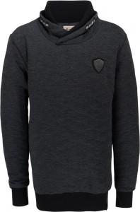 Blue Effect Sweat-Shirt Schalkragen anthrazit