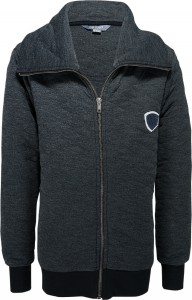 Blue Effect Sweat-Jacke gesteppt anthrazit