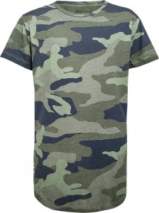 Blue Effect Jungen Long T-Shirt camouflage oliv