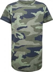 Blue Effect Jungen Long T-Shirt camouflage oliv