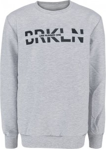 Blue Effect Jungen Sweat-Shirt/Sweater BRKLYN hellgrau melange