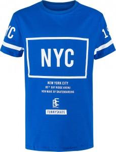 Blue Effect Jungen T-Shirt NYC königsblau