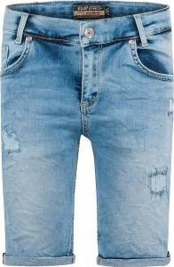 Blue Effect Jungen Short/Bermuda light blue destroyed NORMAL 128