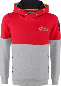 Blue Effect Jungen Kapuzen-Sweat-Shirt/Hoodie ACTIVITY feuerrot
