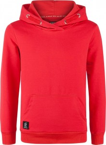 Blue Effect Jungen Kapuzen-Sweat-Shirt/Hoodie Basic feuerrot