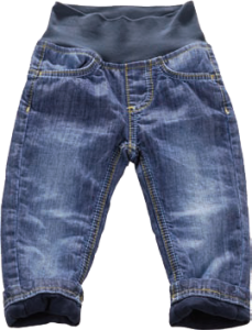 Blue Effect Baby Jeans 220 dunkelblau gefüttert NORMAL