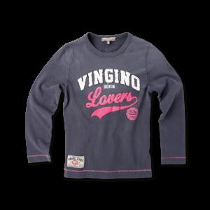 Vingino Langarm-Shirt / Longsleeve HELEZ grey
