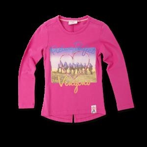Vingino Langarm-Shirt / Longsleeve HAVA bright pink