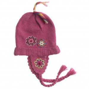 Muy Malo Strick - Mütze India cap pink lightning
