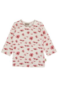Hust & Claire Langarm-Shirt/Longsleeve Flowers nude rose