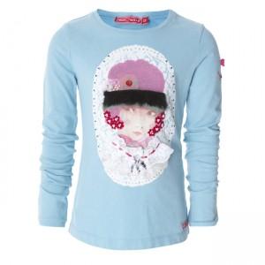 Muy Malo Langarm-Shirt/Longsleeve Girls Portrait porcelain