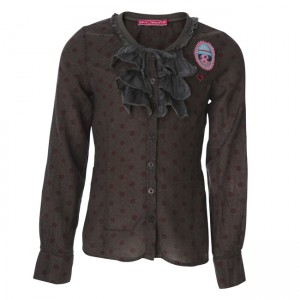Muy Malo Bluse small Flower canteen