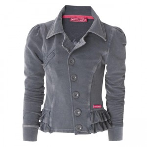 Muy Malo Sweat-Jacke/Blazer dark gull gray