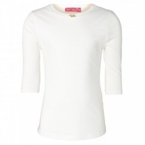Muy Malo Basic 3/4-Arm-Shirt snow white