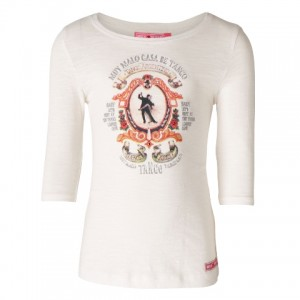 Muy Malo 3/4-Arm-Shirt Tango snow white