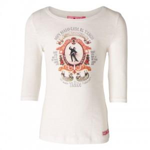 Muy Malo 3/4-Arm-Shirt Tango snow white