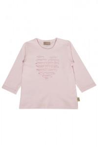 Hust & Claire Langarm-Shirt/Longsleeve Herz soft rose