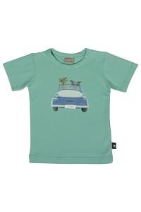 Hust & Claire T-Shirt Auto grün