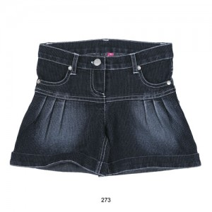 Mim-Pi Jeans-Bermuda dark denim