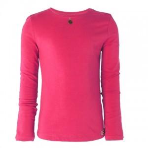 Muy Malo Basic Langarm-Shirt/Longsleeve hot pink