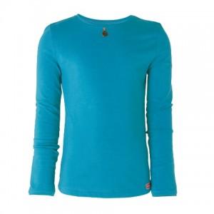 Muy Malo Basic Langarm-Shirt/Longsleeve blue bird