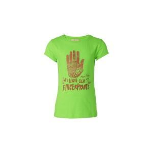 Muy Malo T-Shirt Finger-Print green flash