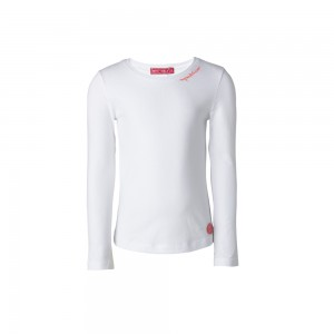 Muy Malo Basic Langarm-Shirt/Longsleeve bright white