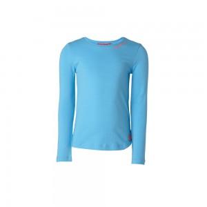 Muy Malo Basic Langarm-Shirt/Longsleeve blue atoll