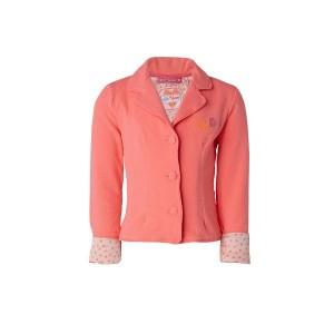 Muy Malo Sweat-Blazer diva pink