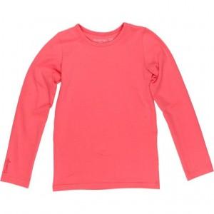 Kiezel-tje Basic-Langarm-Shirt/Longsleeve coral