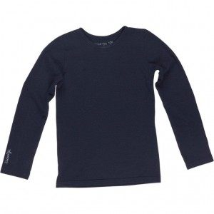 Kiezel-tje Basic-Langarm-Shirt/Longsleeve midnight blue