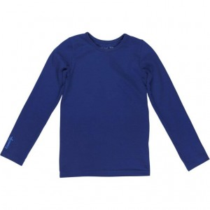 Kiezel-tje Basic-Langarm-Shirt/Longsleeve royal blue