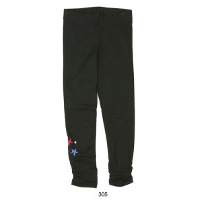 Mim-Pi Legging schwarz Stars