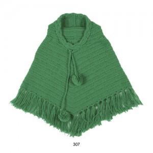Mim-Pi Häckel-Poncho grün