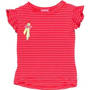 Kiezel-tje T-Shirt Streifen rot/pink