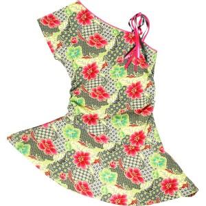 Kiezel-tje Kleid  flower pink