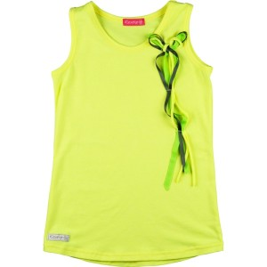 Kiezel-tje Top neon yellow