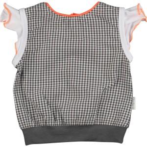 Kiezel-tje Mini Top/Shirt schwarz-karriert