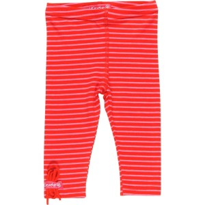 Kiezel-tje Mini Legging Streifen rot/pink