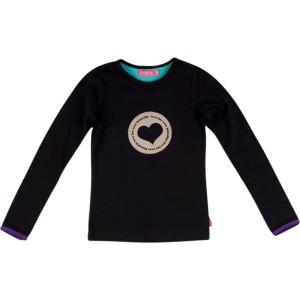 Kiezel-tje Langarm-Shirt/Longsleeve Herz black