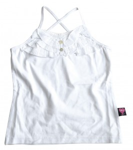 Mim-Pi Träger-Top weiß