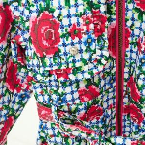 Mim-Pi Sommer-Mantel/-Jacke rot weiß blau