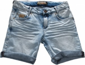 Blue Effect Jungen Jeans-Short ice washed