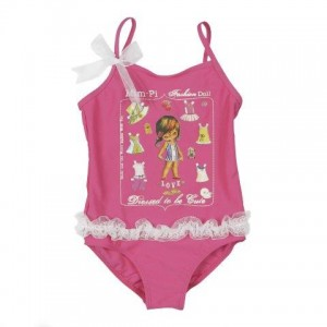 Mim-Pi Badeanzug pink