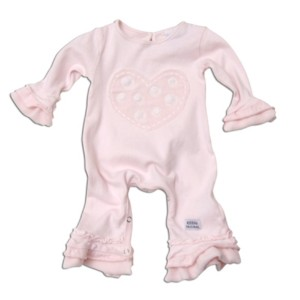 "Keedo Overall light baby pink ""Serene grow"""